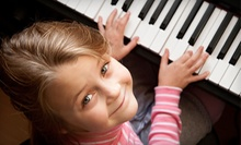 $10 for a Parent and Me Class for Ages 12 Months and Under at 1 p.m. at Sessions Songwriting and Music