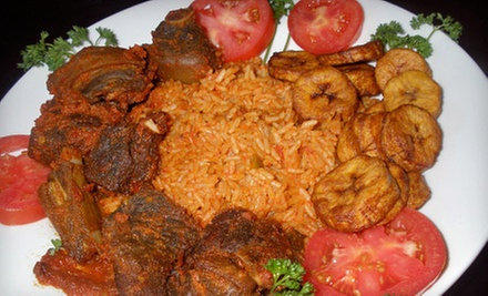 $7 for $10 Worth of Appetizers at Zanzibar African Restaurant