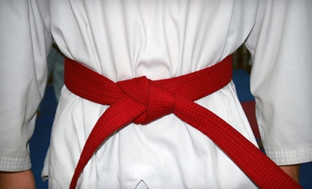 C$6 for a 4 p.m. Children's Trial Martial Arts Class at New Edge Martial Arts, LLC