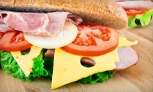 $8 for Two Sandwiches at Ladybug House of Sandwiches