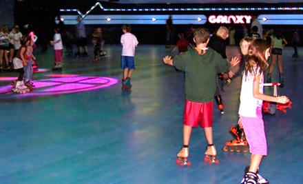 $7 for Skate-and-Play Outing for One at Galaxy Skateway