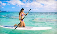 $12 for a One-Hour Standup-Paddleboard Rental for One at Balboa Water Sports