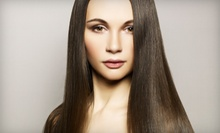 $125 for a Keratin Complex Smoothing Therapy at Fatima Salon