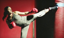 $10 for a Kickboxing Class at 12 p.m. at Kick Fever Fitness
