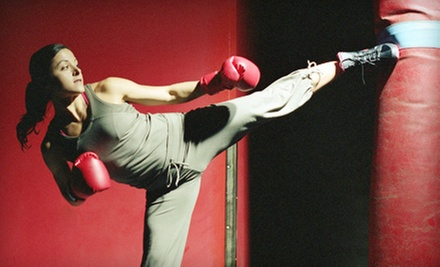 $10 for a Kickboxing Class at 6:15 p.m. at Kick Fever Fitness