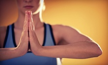 $7 for a 4:15 p.m. Hot Yoga Class for Returning Students at Om on Fire! Yoga