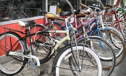 $30 for a Mid-Range Bike Tune-Up  at Belltown Pull-Apart