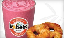 $8 for 3 22-Oz. Tropical or Berry Smoothies & 1 Shot of Wheatgrass at Robeks - Ventura