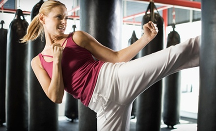 $5 for a 6:40 p.m. Kickboxing Class at MOAB Fighting Concepts