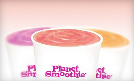 $7 for $14 Worth of Smoothies at Planet Smoothie Altamonte Springs