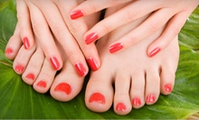 $19 for a Mani-Pedi with UV-Cured Shellac Polish at Rossie Nails