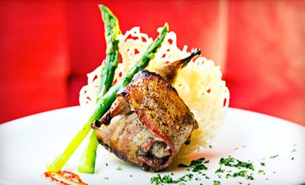 C$20 for a Three-Course Set Meal from 'Menu 35' at Cache Bistro & Lounge