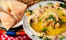 $5 for a Hummus Plate &amp; Medium Latte at Cahoots Coffee Bar