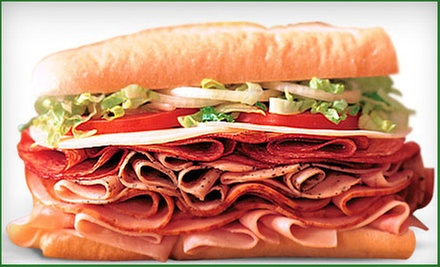 $5 for a 6 Inch Sandwich, Chips & 22 oz Drink or a 12 Inch Sandwich at Blimpies-Hiram