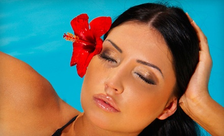 $35 for a Custom Air Brush Tanning Session w/ Mina at Legends Hairstyling Co. on Santa Margarita Pkwy