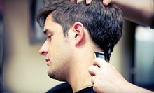 $17 for a Men's Salon Package With a Straight-Razor Shave  at The Atascocita Barbershop
