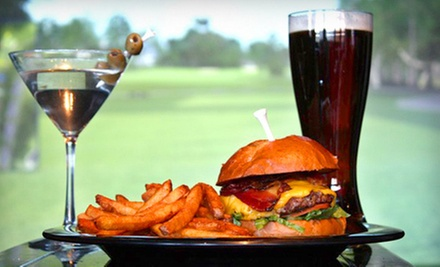 $38 for 2 Hours on the Golf Simulator plus Food and Drink Credit at Swingers Sports Lounge and Grill