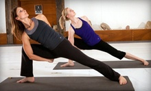 $6 for a 1-Hour Yoga by Candlelight Class with Alyona at 8:30 p.m.  at Three Rivers Aikido