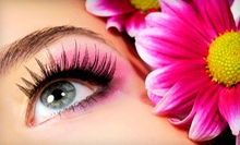 $75 for Noval Individual Upperlash Eyelash Extensions at 4Ever Nails &amp;amp; Salon