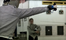 $15 for an Adult Fencing Class at 7:30 p.m. at New Amsterdam Fencing Academy