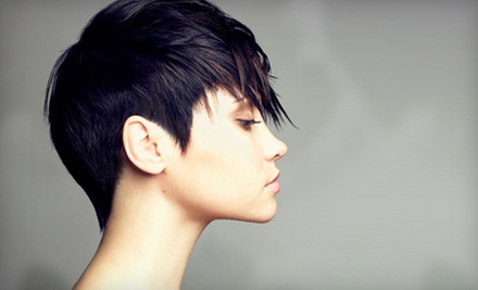 $29 for a Women&#x27;s Haircut and Moroccan Oil Treatment at Make Me Over Salon Spa