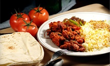 $10 for $15 at Peacock Gardens Cuisine of India