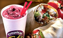 $2 for Any Toasted Flatbread With Chips, Fruit or a Cookie at Tropical Smoothie Cafe-Goodyear