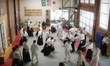$15 for a 6:00 p.m. Aikido Class at Aikido Suginami Aikikai SF