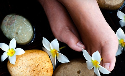 $39 for a One-Hour Hot Stone Foot Reflexology at Relax Foot Spa