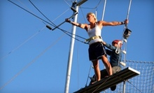 $45 for a 6.p.m. Flying Trapeze Class at Trapeze High
