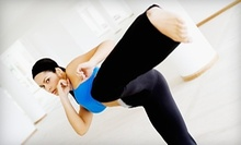 $10 for a 45-Minute Kickboxing Class at 6:45 p.m. at California Martial Arts Academy