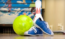 $4 for One Game of Bowling and Shoes for Two at Jay Lanes Bowling