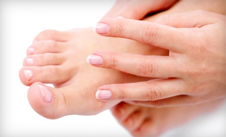$25 for a Mani-Pedi  at Serenity Nails &amp; Spa