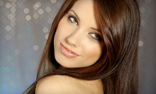 $35 for a Haircut, Conditioning Treatment, and Style at Trouble Salon