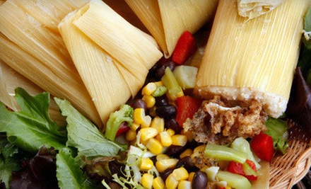 $14 for a Tamale Meal for Two (Up to $22 Value) at Tamale Mama's