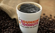 $5 for $7 Worth of Food and Drink at Dunkin Donuts Philadelphia