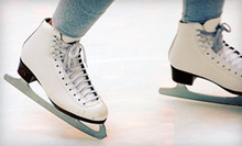 $7 for Ice Skating for Two with Skate Rentals (Up to $26 Value) at Saveology.com Iceplex