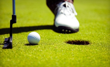 $34 for 18-Hole Golf Outing with Cart &amp; Bucket of Range Balls at The Bridges Golf Club Texas