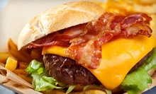 $10 for $15 at America's Burgers and Wraps