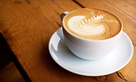$5 for 2 Flavored Mochas or Lattes at Original Coffee Brake