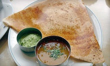 $15 for 1 Appetizer, 2 Entrees, and 2 Desserts at Dosa Delight