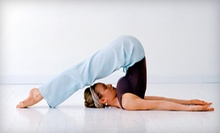 $10 for a Dynamic Flow Yoga Class at 12 p.m. at Floating Lotus Yoga Studio & Natural Healing Center