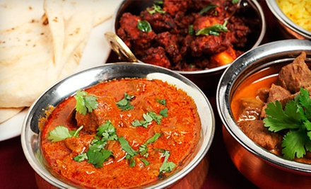 $8 for Combo Meal 1 & Bottled Drink at Gourmet India Boston