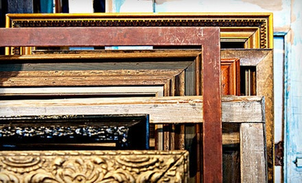 $55 for $100 Worth of Custom Framing at Foursided