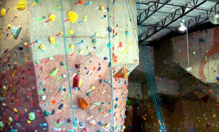 $9 for a Day Pass With Gear (Up to an $18 Value) at Canyons Climbing Gym