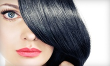 $27 for Shampoo, Haircut, And Eyebrow Wax at London Sky Salon