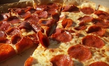 $10 for X-Large Cheese PIzza &amp; Garlic Knots at Pete's Pizza