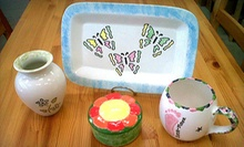 $15 for $20 Worth of Paint Your Own Pottery   at Ceramics a la Carte