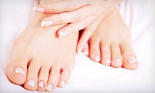 $25 for a Manicure and Pedicure at Extension Dreams Salon & Spa
