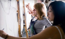 $35 for a 6 p.m. Abstract Art Class  at Losina Art Center